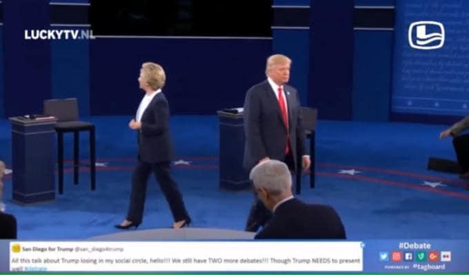 Hillary Clinton Donald Trump Time of my Life
