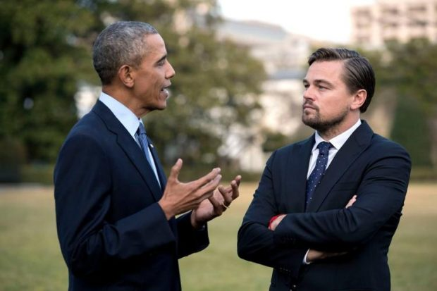 Obama e DiCaprio in Before the Flood
