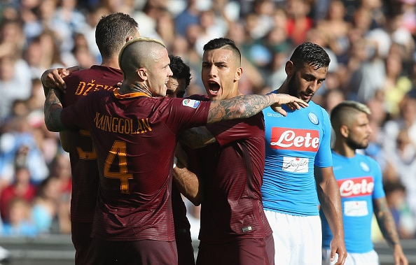 NAPOLI-ROMA 1-3 VIDEO GOL HIGHLIGHTS