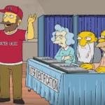 Simpsons Vladimir Putin Donald Trump