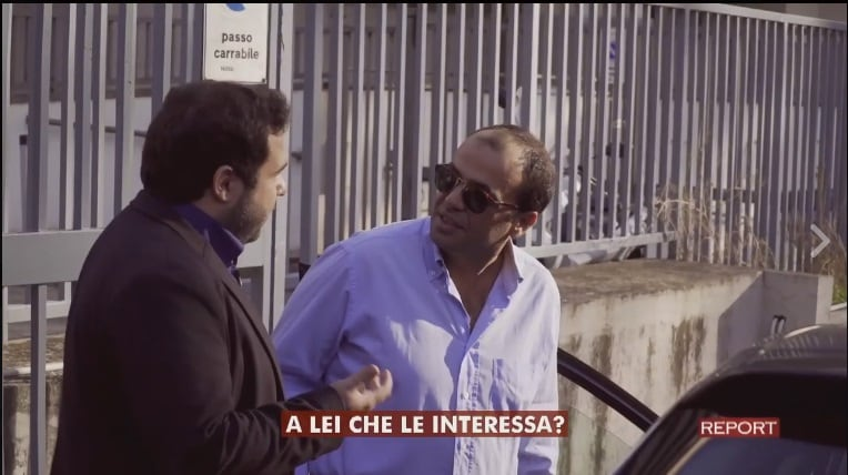 Alessandro Alfano bagno Report