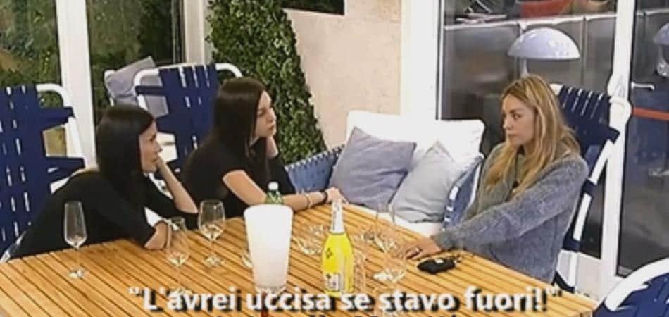 Antonella Mosetti Giulia l'avrei ammazzata