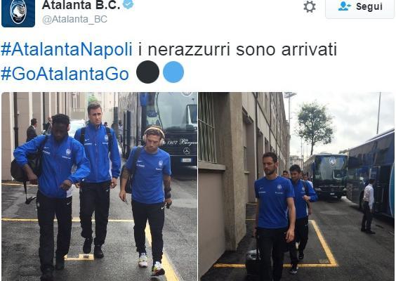 atalanta-napoli diretta
