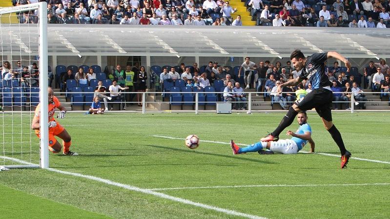 atalanta-napoli 1-0 video gol highlights petagna