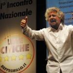 Beppe Grillo salvini