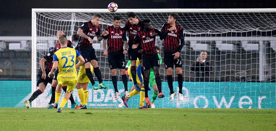 chievo-milan video gol highlights