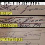 firme false m5s