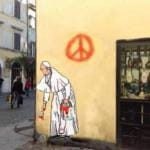 Papa Francesco nuovo murale