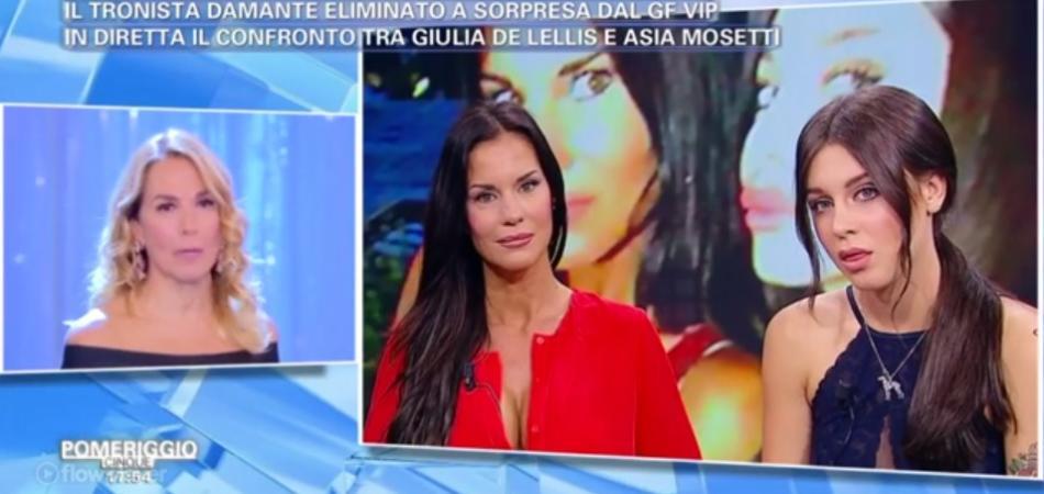 Barbara D'Urso Antonella Mosetti