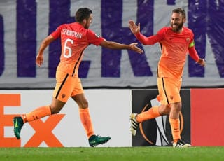 Austria Vienna-Roma video gol