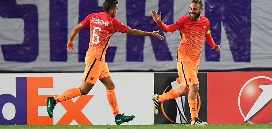 Austria Vienna-Roma video gol