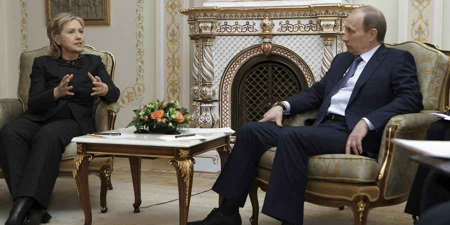 bufale fake Vladimir Putin Hillary Clinton