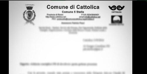 cattolica comune 5 stelle