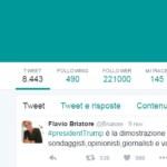 Donald Trump Flavio Briatore