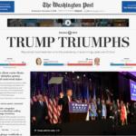 donald trump giornali stranieri