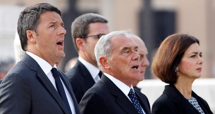 Matteo Renzi dopo referendum