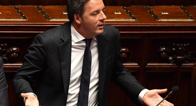 Donald Trump Matteo Renzi referendum