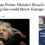 Beppe Grillo Donald Trump