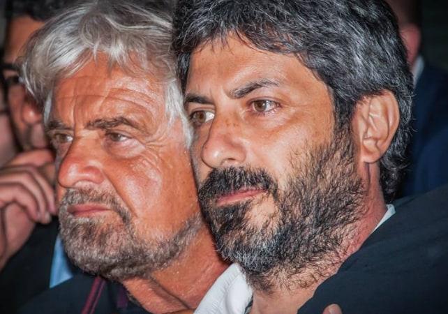 Beppe Grillo Roberto Fico