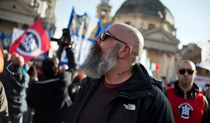 CasaPound Gianluca Iannone