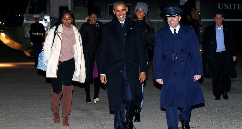 Malia Sasha Obama sorelle Bush