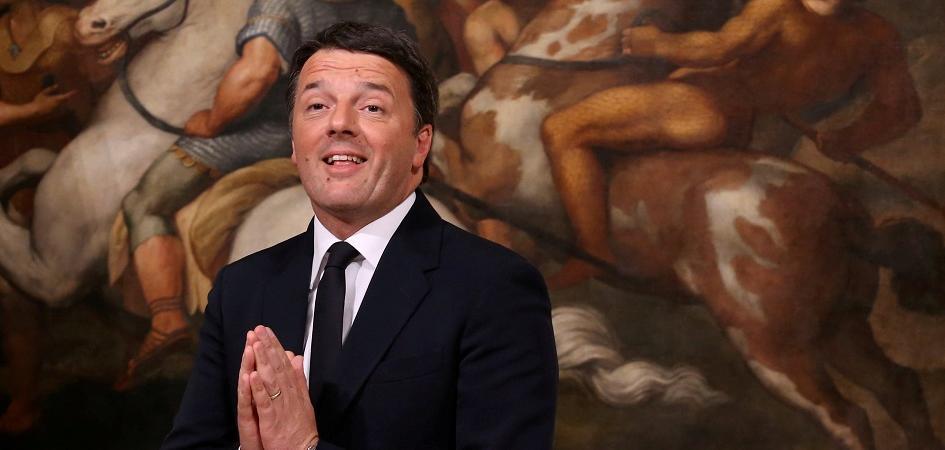 Matteo Renzi Massimo D'Alema