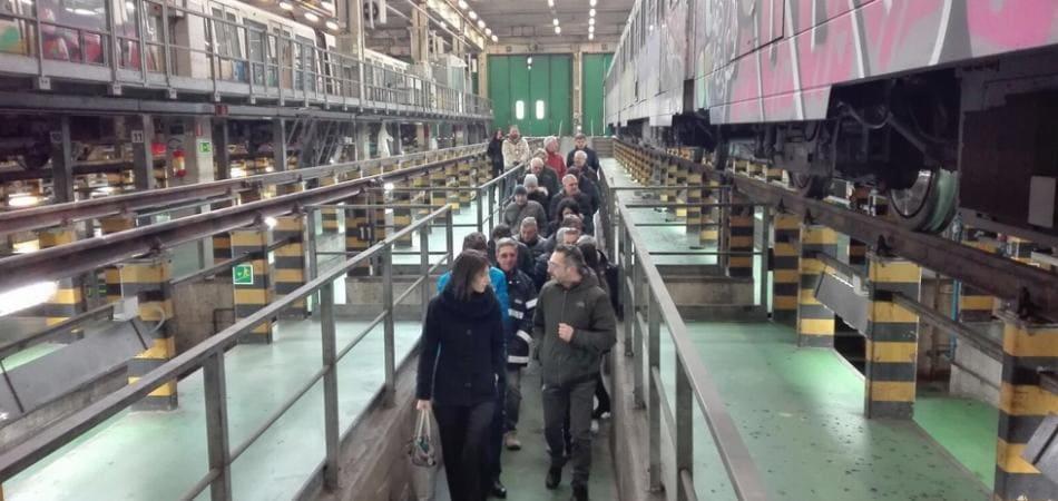 vigilanza metro roma