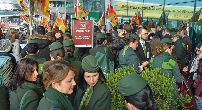 scioperi Alitalia