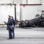 auto caduta