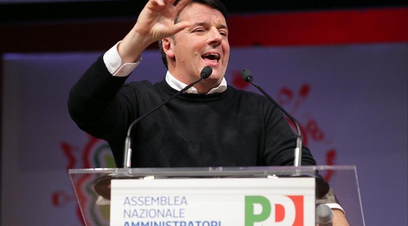 Direzione PD Renzi