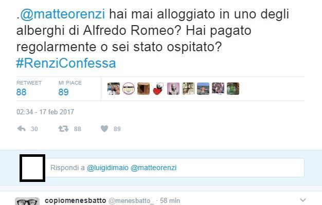 luigi di maio #renziconfessa