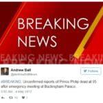 prinicipe filippo morto