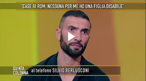 Quinta Colonna Silvio Berlusconi