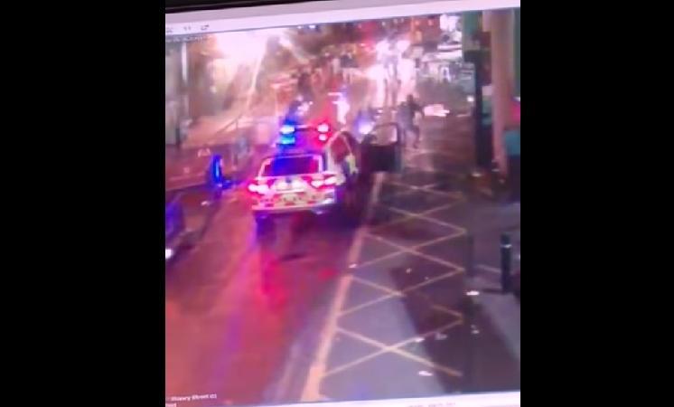 video attentato londra