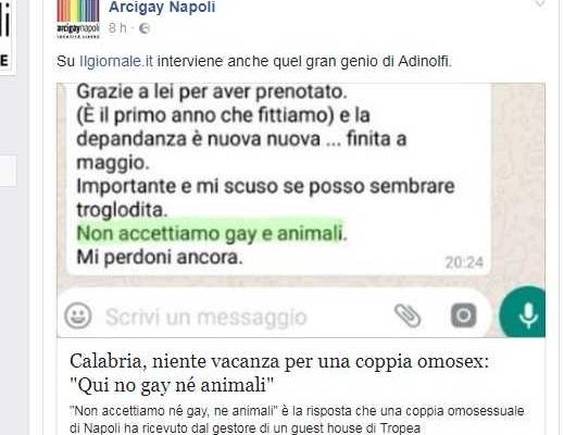 coppia gay discriminata