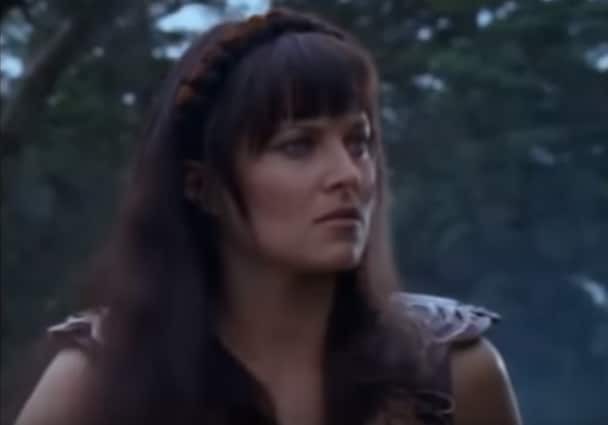 Lucy Lawless Lucca
