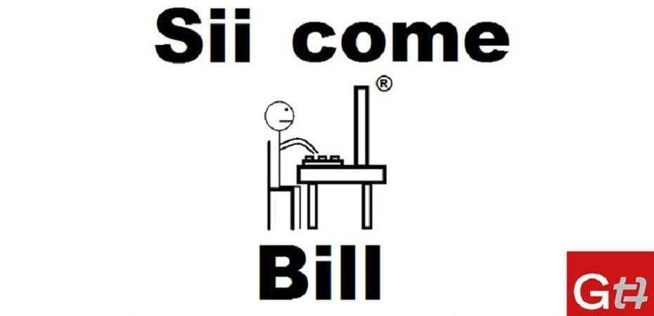 sii come bill privacy