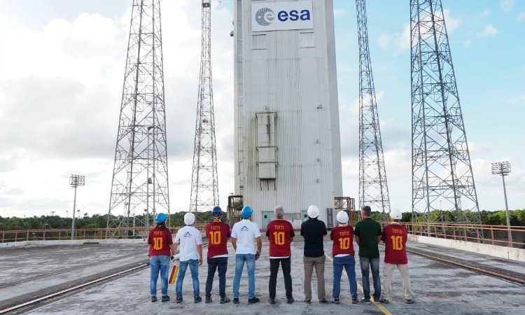 Francesco Totti nello spazio