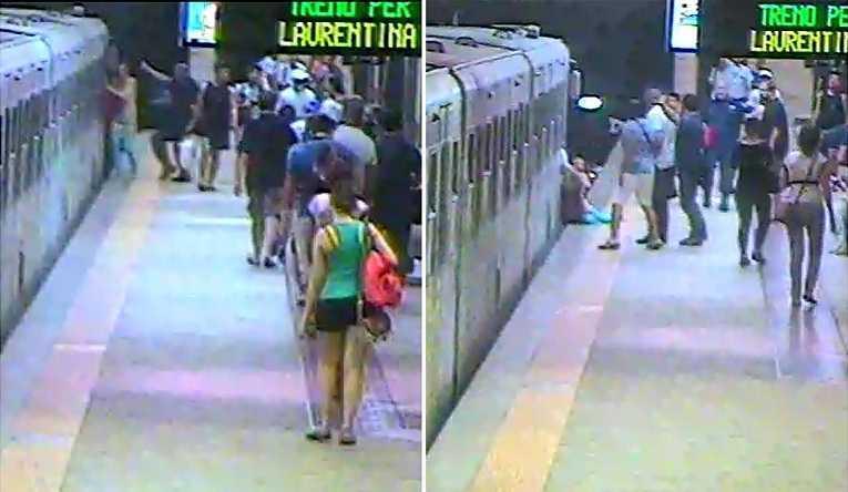 Sedie A Rotelle Roma : Donna trascinata dalla metro a roma dalla sedia a rotelle dice