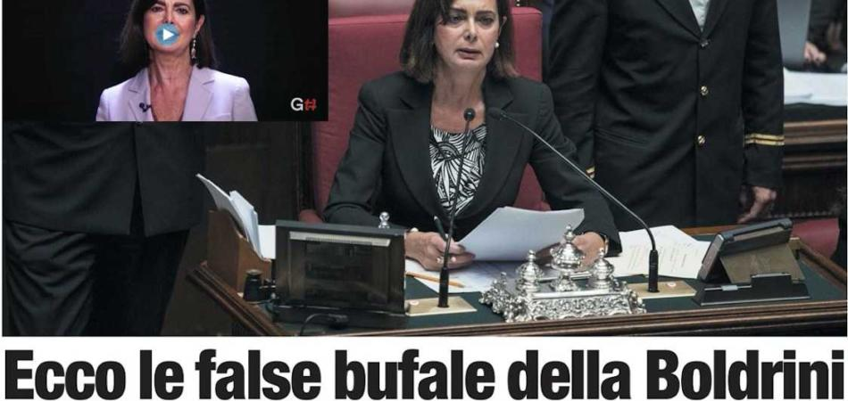 Bufale Boldrini