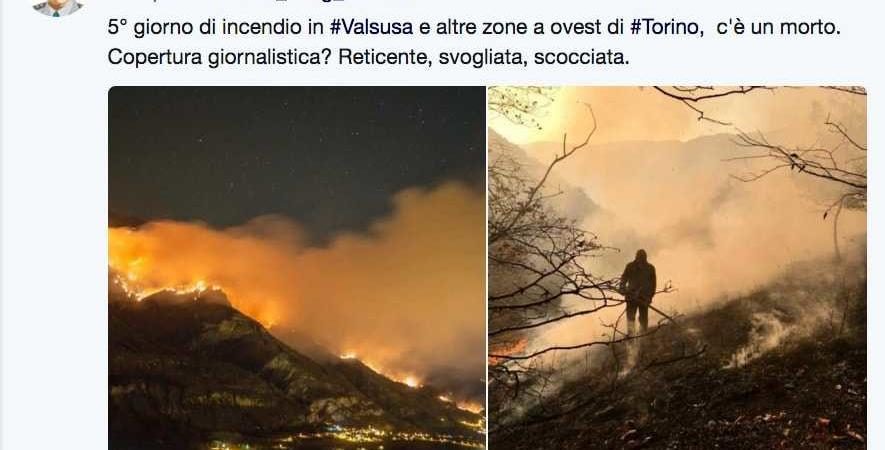 incendi in Valsusa