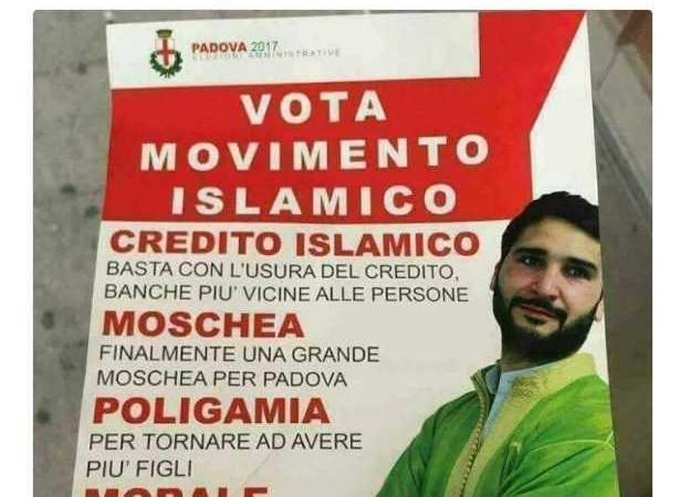 movimento islamico bufala