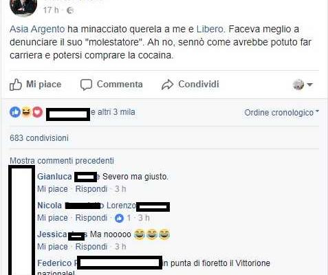vittorio feltri fake