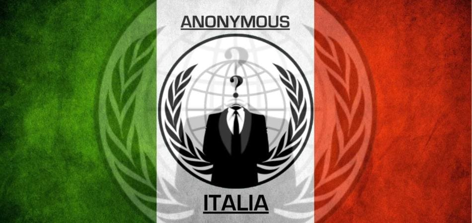 Anonymous ha rubato documenti a Palazzo Chigi