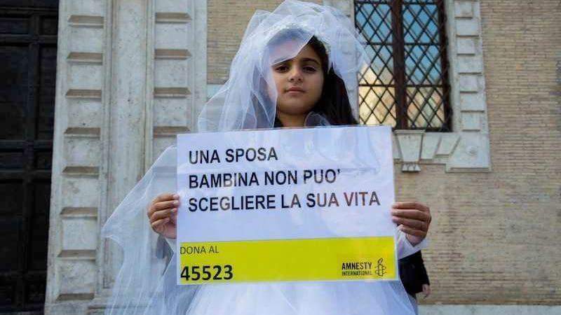 sposa bambina