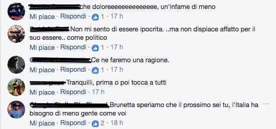 Commenti morte Matteoli