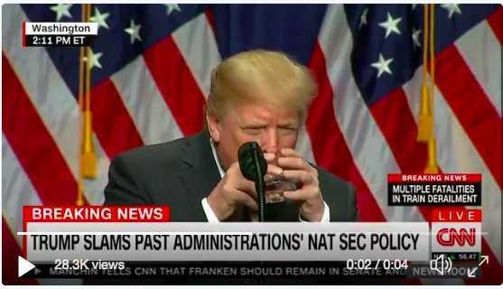 Donald Trump ghiaccio