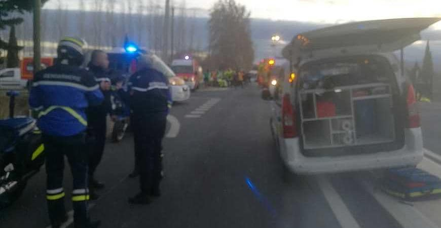 incidente scuolabus Francia