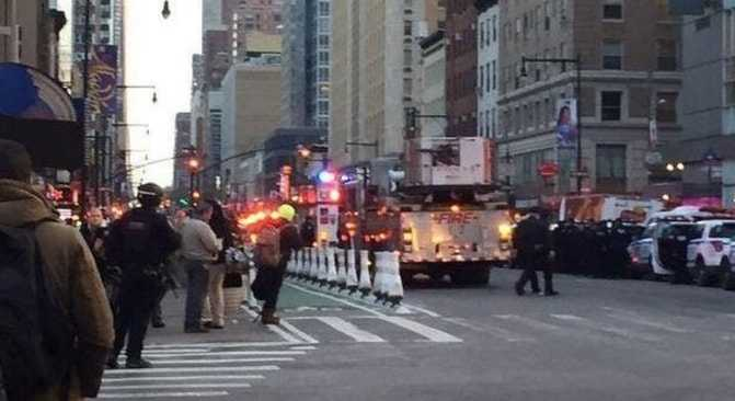 esplosione a Manhattan
