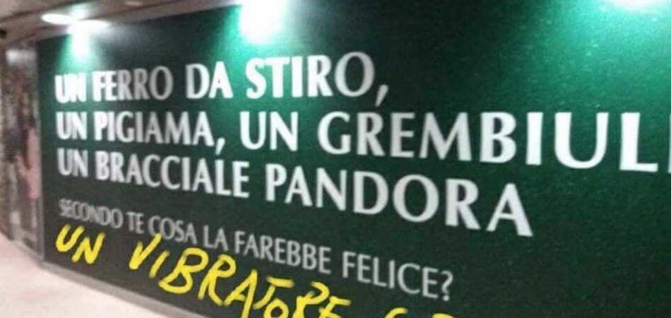 meme pubblicità Pandora